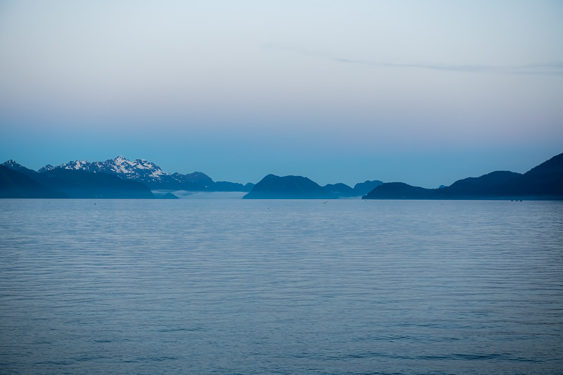 Blue Mist Seascape