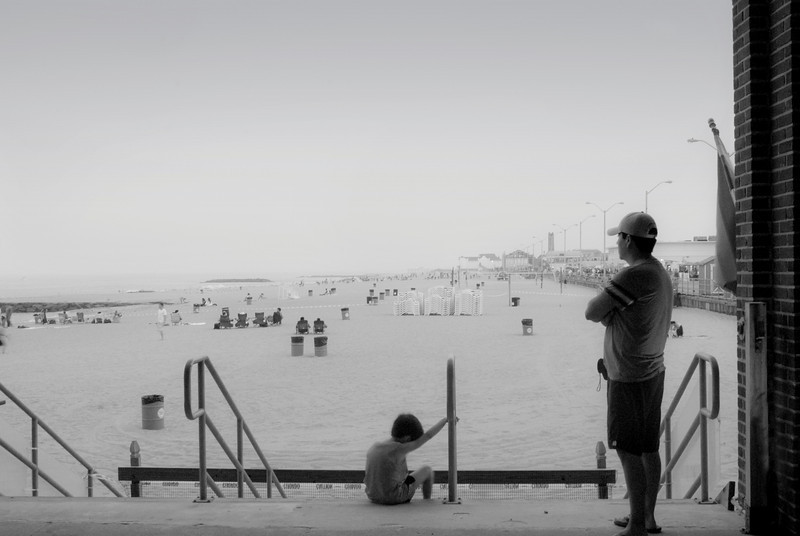 """""""Looking Out"""" Asbury Park"""