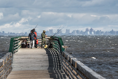 Fishing From Pier