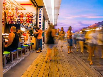 Motion Boardwalk Blur
