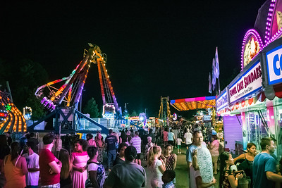 Food Stands at the Fair