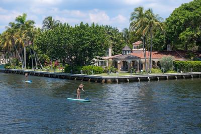 Canal Paddleboarding