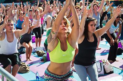 Yoga Class Time Square
