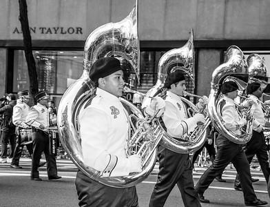 Sousaphones Black and White