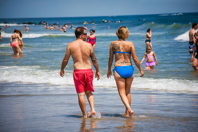 Tatoo Couple on Beach