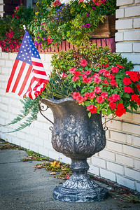 Patriotic Flower Pot