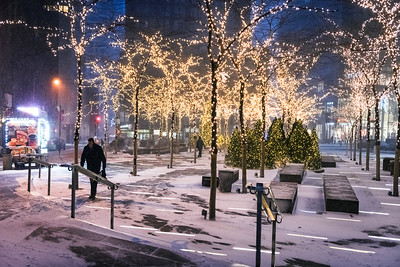 Holiday Lights Zucotti Park
