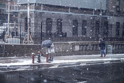 Cold City Street