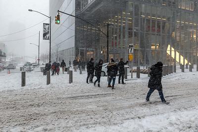 Bomb Cyclone Snow Storm