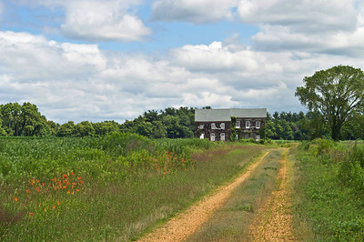 """Countryside Home"" The historic Molly Pitcher house, part of Monmouth Battlefield State Park in Freehold, New Jersey."