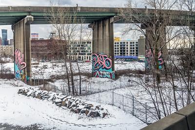 Grafitti and the Bridge