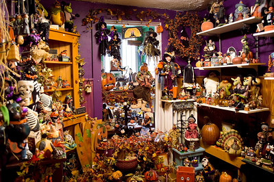 halloween decorations a room full of halloween decorations in a country store in the - Halloween Decorations Store
