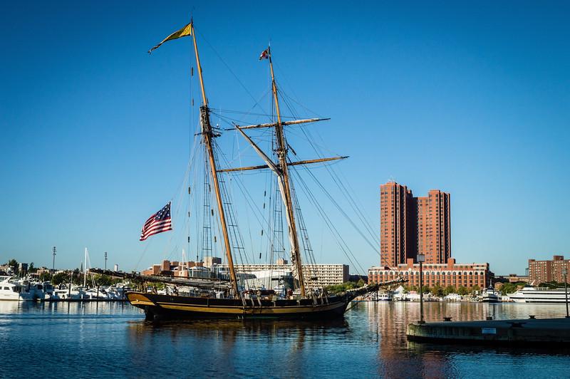 Sailing Ship Inner Harbor