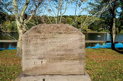 Original Washington Crossing Monument