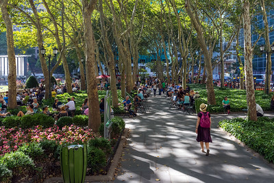 Summer Walk Bryant Park