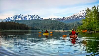 Kayaking Bear Lake