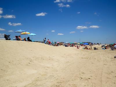 Beach Sand View
