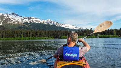 Paddling Alaska