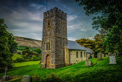 Walking Through Literary History The Church of St Mary the Virgin Oare Exmoor National Park, Somerset