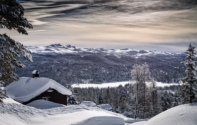 The Perfect Cabin The Perfect View Near Fossheim Norway