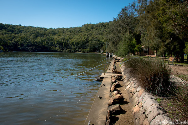 Up River at Woronora River