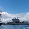 HMAS Choules and Tenacious
