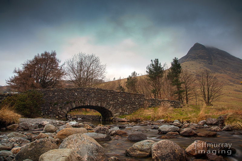 A shot at Wast Water of a small bridge over a stream.  I have uploaded a Black and White of this with different composition.