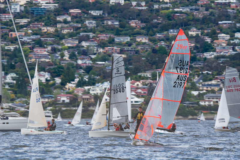 Sailing in Sandy Bay