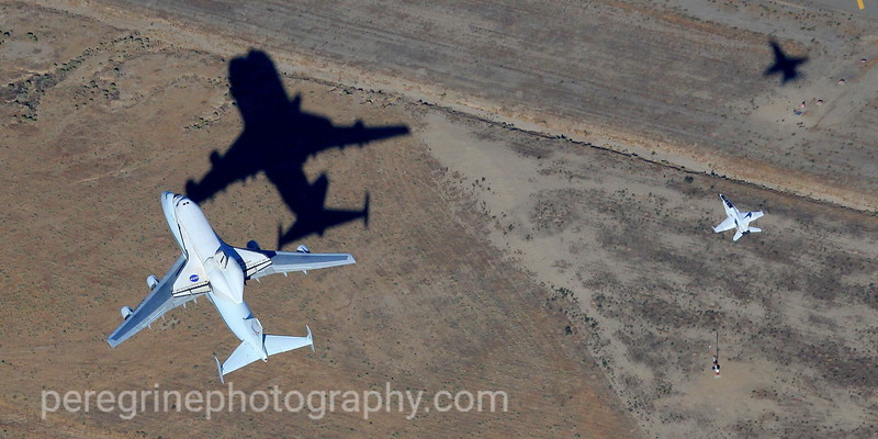Endeavour's Final Flight - Palmdale