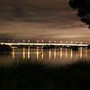 Mt Henry Bridge at Night