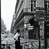 Parisian Waiter - takes a break.