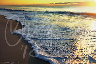 Sunrise. Coopers Beach, Southampton, NY.