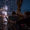 Hobart Fireworks New Year's Eve  2015