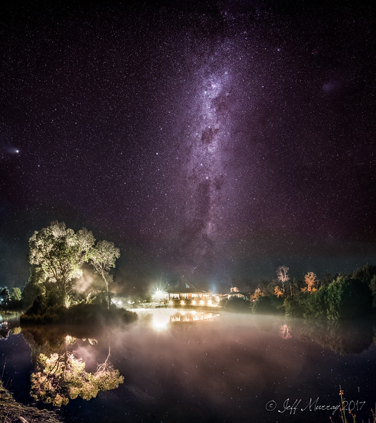 Cradle Mountain Lodge and the Milky Way