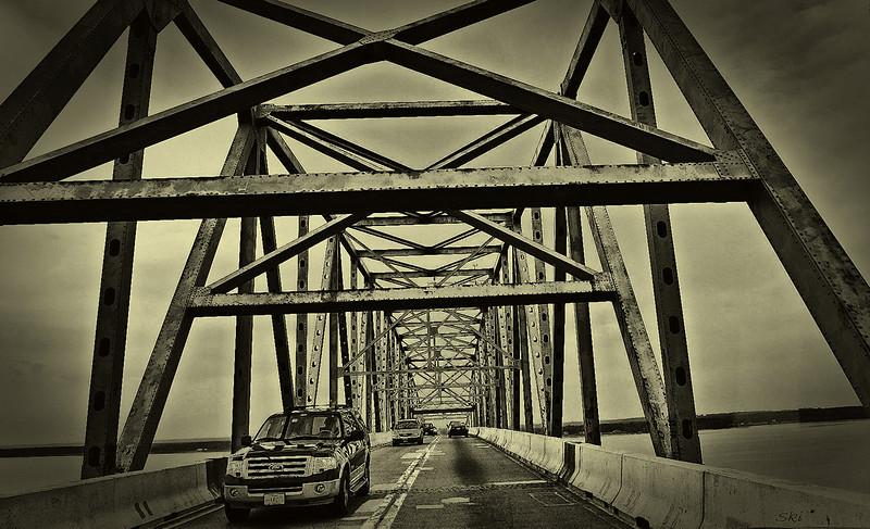 Harry Nice Bridge (South bound into VA)