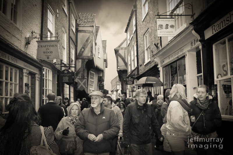 York has a street called - 'The Shambles' - I can't remember if this is a photo of it - but it is similar.  And I just had to post a picture of a street with such a quaint name.