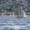 Sailing in Sandy Bay