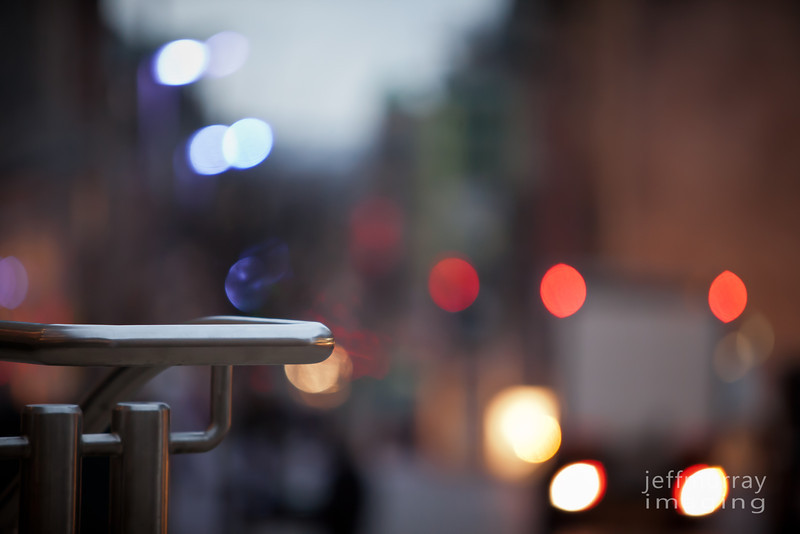 Bokeh at sunrise in Buchanan Street Glasgow.  Flickr must be getting to me I nearly posted one of those fence friday things with this shot.  This is Saturday so I am ok ;-)