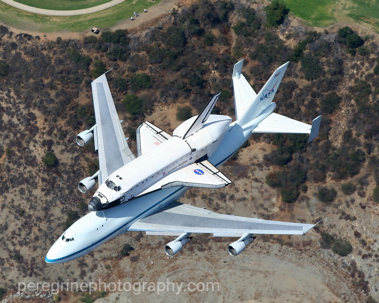 Endeavour's Final Flight - Glendale