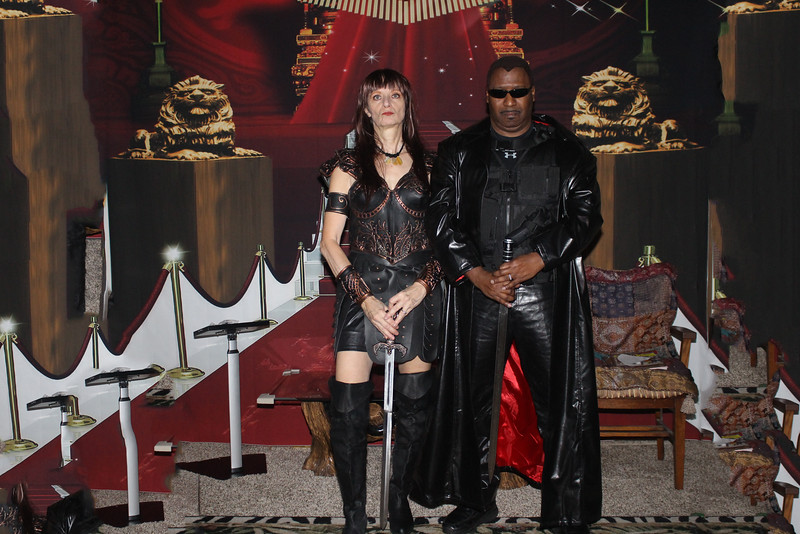 Xena and Blade