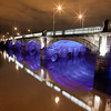 I ride the next bridge into Glasgow most days.  Slight over exposure not sure why - maybe the blue?