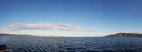 Long cloud from Taroona to Howden