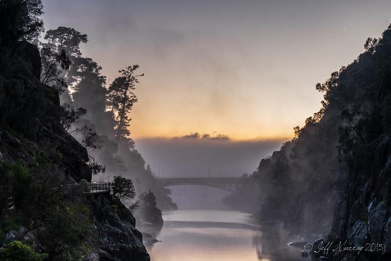 Cataract Morning Mist