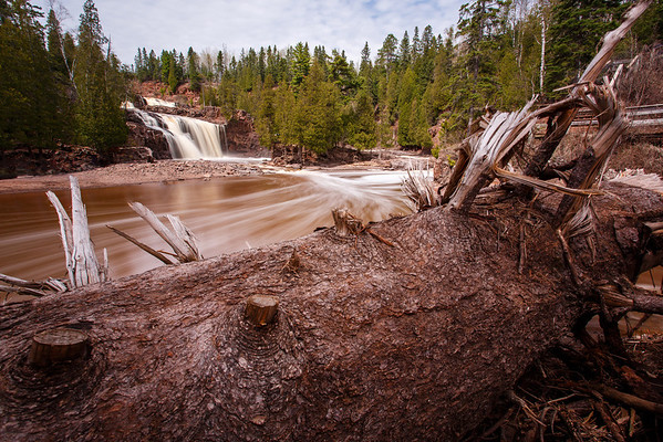 Gooseberry Falls A Year Later