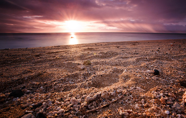 Seashell Beach Sunset