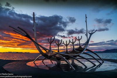Iceland, Reykjavik - Sun Voyager