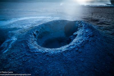 Iceland - Namafjal Hverir - geothermal field