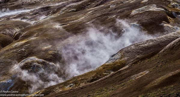 Iceland - Leirhnjukur - Riolite