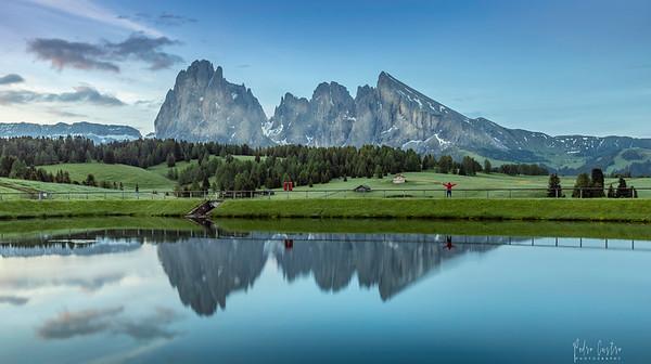 Alpi di Siussi, Dolomites, Italy