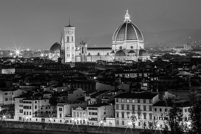 Chatedral of Santa Maria del Fiore (Duomo) view from Piazzale Michelangelo